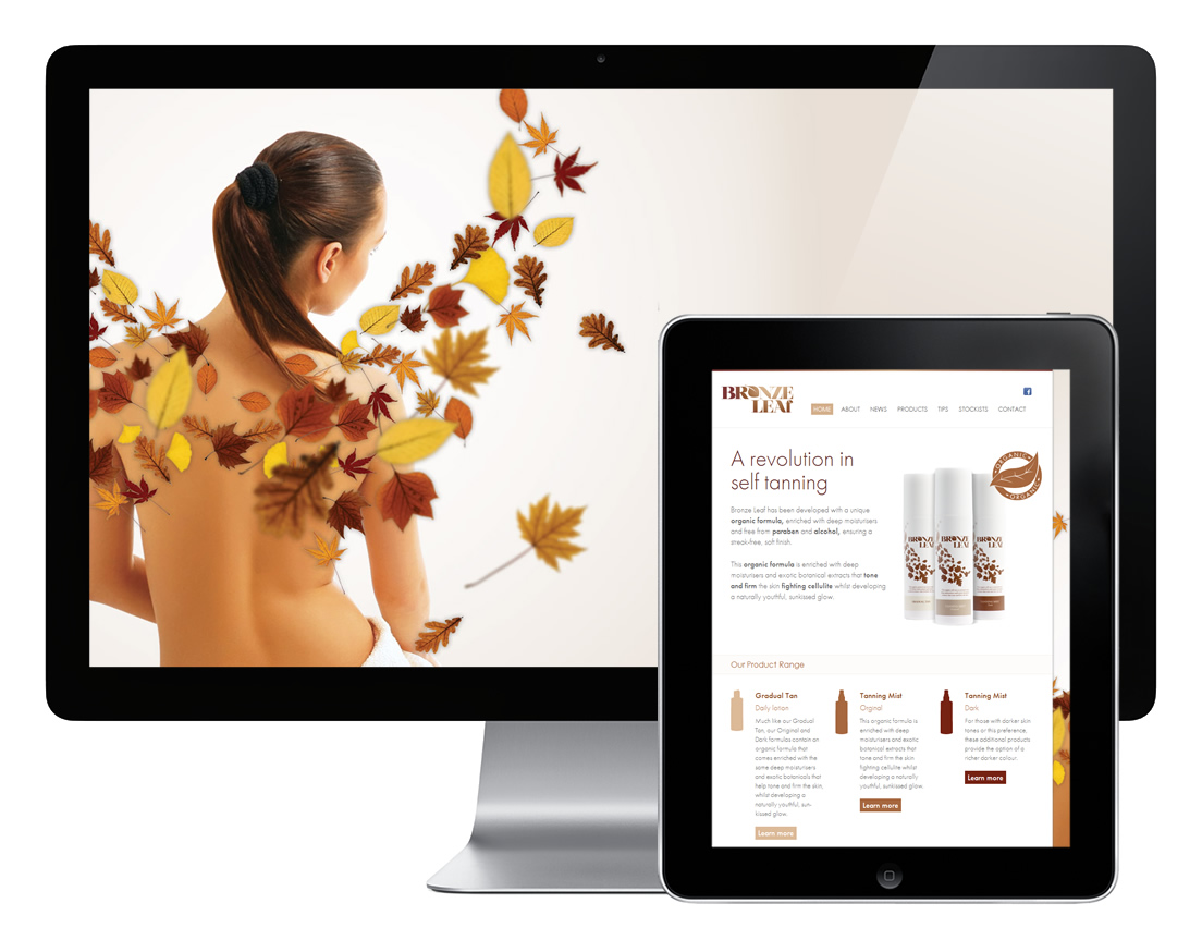 Bronze Leaf web design and digital strategy