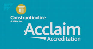 Constructionline Acclaim logo