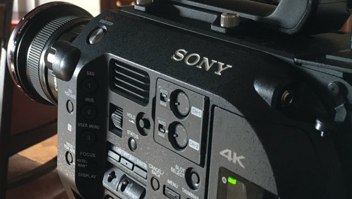 Sony FS7 and A7S II cameras for hire