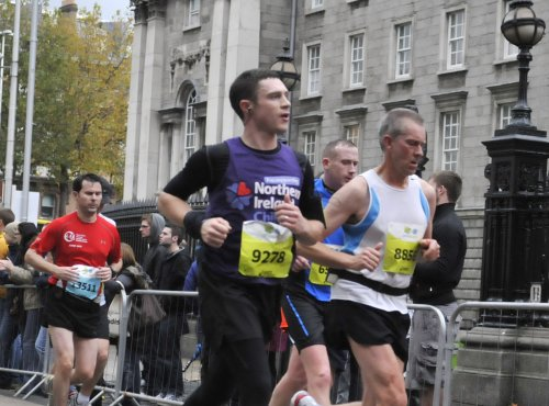 Image of Peter Runs the Dublin Marathon