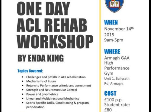 Image of ACL Rehabilitation Course