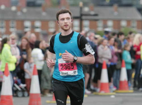 Image of Peter Runs Belfast Marathon