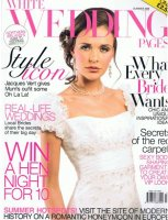 Image of White Wedding Pages Summer 2009