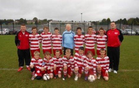 2012/13 U13 team photo