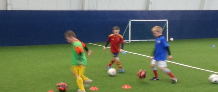 Football Development Centre Moves Indoors