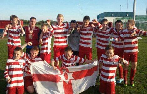 Blackpool Cup 2011 - U14s Championees!