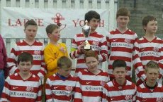 U14s Larne Youth Soccer 7 Tournament Winners