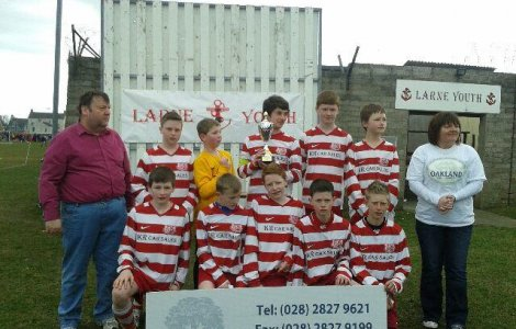 Colts 14s win Larne Youth Soccer Sevens Tournament