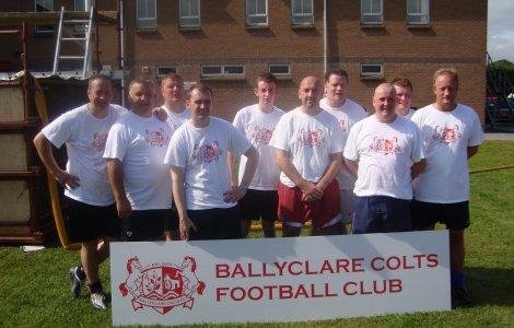 The winning team Fun Day 2010