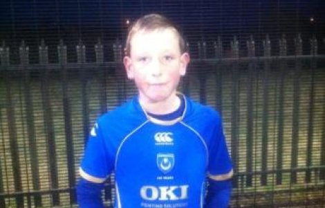 U12's Player of the Month - Sept'12 - Blane Warren