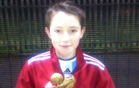 U12's Player of the Month - Oct'12 - Lucca Hamill