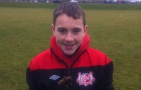U12's Player of the Month Nov'12 - Scott Haggan