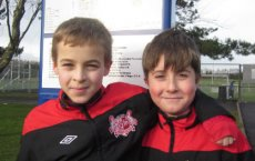 Under 11 County Trials 2012 - Scott Wilson & Cameron Brown