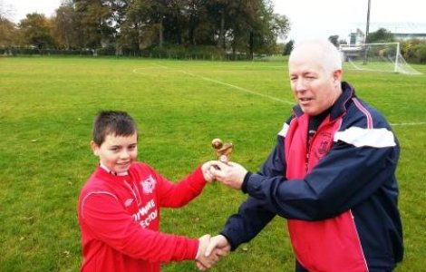 September 2012 Player of the Month - Ryan Coulter