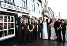 Wedding at Grace Neills in Donaghadee