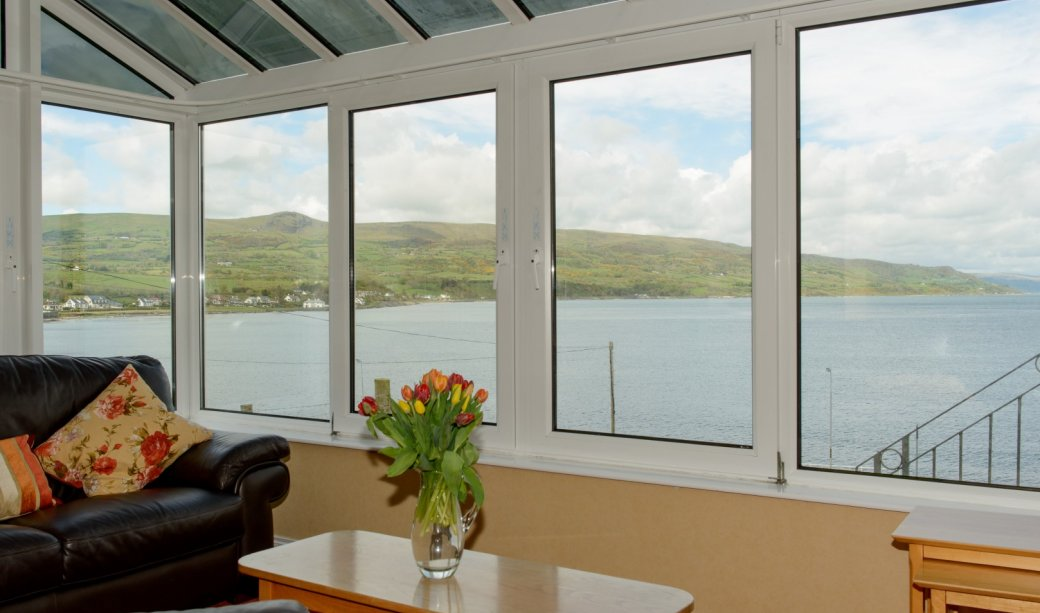 Image of View from 5 Self catering Accommodation Causeway coastal route
