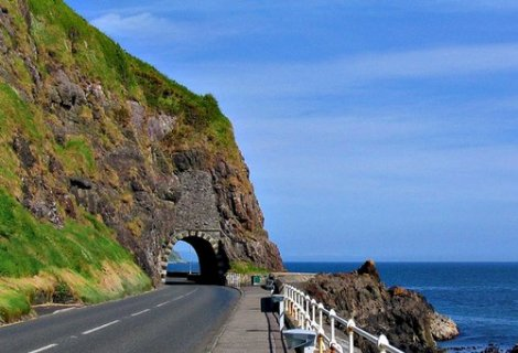 Image of Antrim coast road