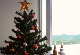 Welcome to December! Self catering at Christmas on the Antrim Coast.