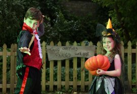 Halloween at Carnfunnock Country Park, Larne. Saturday 28th October