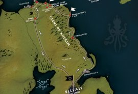 Game of thrones tours and film locations Northern Ireland