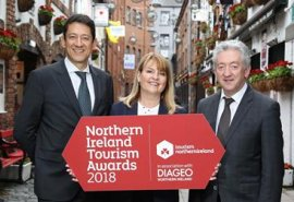 We won third place in the Northern Ireland Tourism awards!
