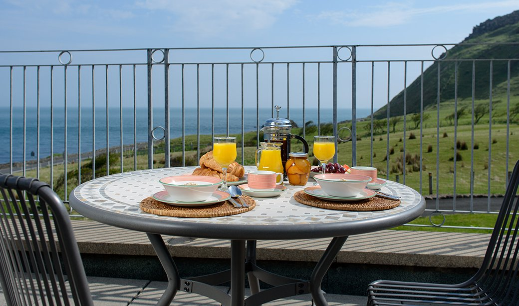 Image of Balcony in 6 Self catering Accommodation Causeway coastal route