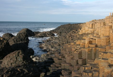 Image of The Giant's Causeway- on the causeway coastal route Northern Ireland