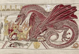 Game of Thrones Tapestry in Belfast