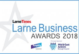 Ballygally Holiday Apartments is a finalist in 2 categories in the Larne business awards!