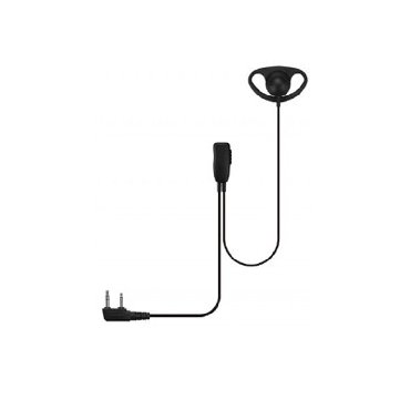D-Shape Earpiece with  PTT