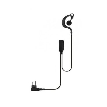 G Shape Earpiece with PTT