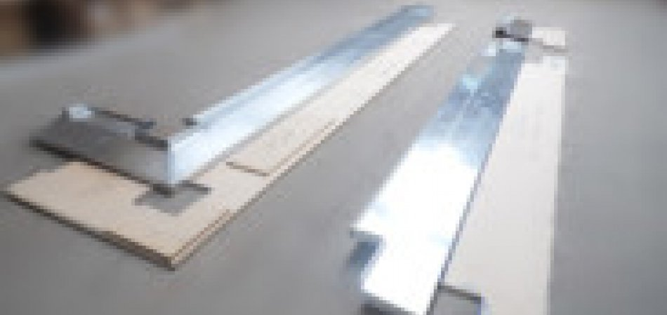 Aluminium window sills