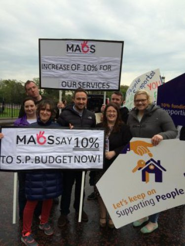 Call for 10% increase in Supporting People
