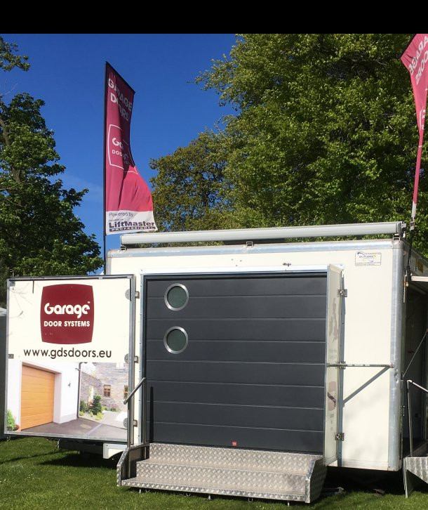 Garage Door Systems at Garden Show Ireland