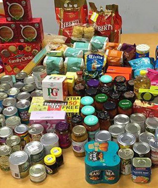 GDS supports local Ballymena Foodbank