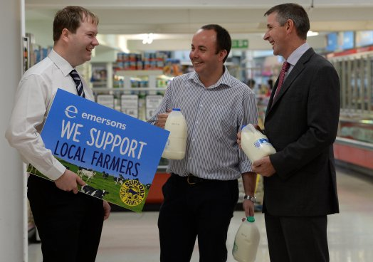 Independent Northern Ireland supermarket takes the lead to support struggling dairy farmers