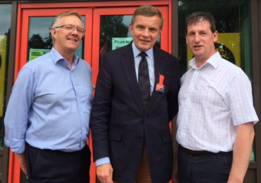 UFU Deputy President and CEO meet key Brexit Minister