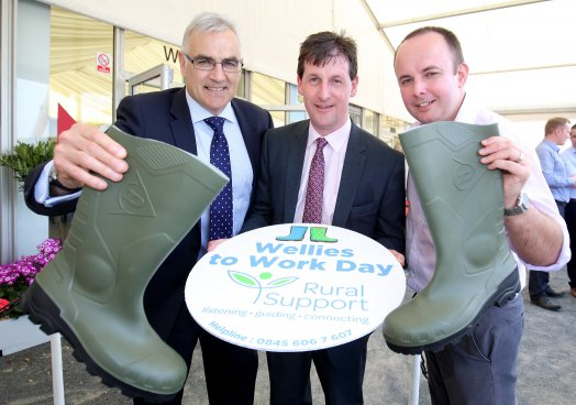 Rural Charity Encourages Supporters to Put Their Best Boot Forward for Wellies to Work Day 2016