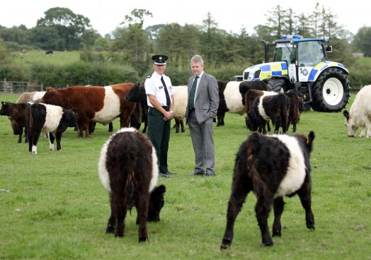 UFU witness police operation to tackle rural crime